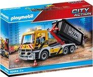 Playmobil City Action - Vrachtwagen met wissellaadbak - 70444