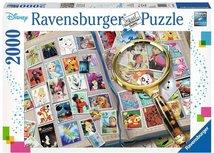 Ravensburger puzzel - Mijn mooiste  Disney postzegels - 2000 stukjes