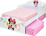 Minnie Mouse - Kleinkinderbett mit Stauraum unter dem Bett