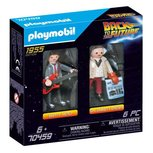 Playmobil - Back to the Future DuoPack Marty McFly en Dr. Emmet Brown - 70459