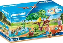Playmobil Family Fun - Red pandas in the outdoor enclosure - 70344