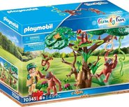 Playmobil Family Fun - Orangutans in the tree - 70345
