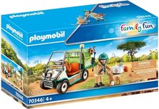Playmobil Family Fun - Zookeeper with vehicle - 70346
