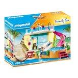 Playmobil Family Fun - Bungalow with pool - 70435