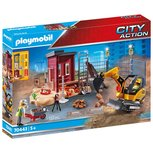 Playmobil City Action - Mini excavator with construction part - 70443