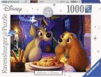 Ravensburger puzzel - Disney Lady en de Vagebond - 1000 stukjes