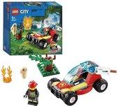 Lego City - Brandweer Bosbrand - 60247