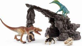 Schleich  Dinosaurs - Dino set met grot - 41461