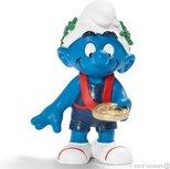 Schleich Smurfen - Olympische team Winner Smurf  2012- limited edition - 40267