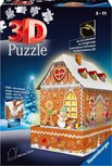 Ravensburger - Kerst Gingerbread House Night Edition 3D puzzel - 216 stukjes