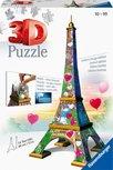Eiffelturm 3D Puzzle - Love Edition - 216 Teile