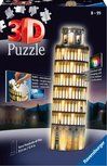 Ravensburger Toren van Pisa Night Edition - night edition - 3D puzzel - 216 stukjes