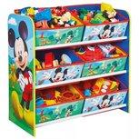 Mickey Mouse - Spielzeugschrank mit 6 Behältern