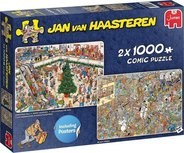 Jan van Haasteren - Holiday Shopping  - Puzzel 2 x 1000 Stukjes