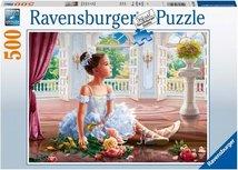 Ravensburger puzzel - Droom van een ballerina - 500 stukjes