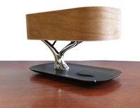 Tree of light - Bureaulamp met bluethooth speaker en draadloos opladen