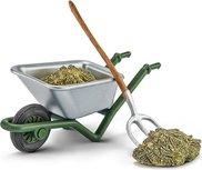 Schleich Farm world - Wheelbarrow with hay - 42290