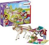 Schleich Horse club - Paardenkoets voor de grote paardenshow - 42467