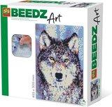 Beedz Art strijkkralen SES: Wolf