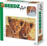 Beedz Art strijkkralen SES: Leeuwen
