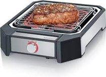 Severin PG 8545 Steakgrill Tafelbarbecue - zwart RVS