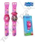 Peppa Pig Uhr digital mit Blitzlichtern