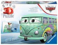 Ravensburger Volkswagen bus T1 Pixar Cars - 3D puzzel - 162 stukjes
