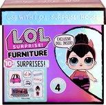 LOL Surprise furniture pack -  B.B. Autowerkplaats met Spice - Serie 4