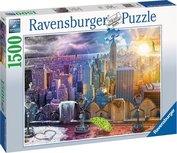 Ravensburger puzzel - New York Skyline  - 1500 stukjes