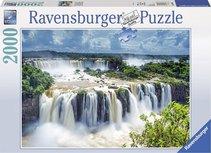 Ravensburger puzzel - Watervallen Iguazu, Brazilië - 2000 stukjes