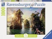 Ravensburger puzzel - Three rocks in Cheow, Thailand - 1000 stukjes