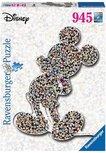 Ravensburger puzzel - Shaped Birthday Mickey  - 945 stukjes