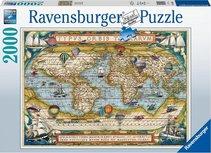 Ravensburger puzzel - Around the World  - 2000 stukjes
