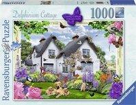 Ravensburger puzzel - Delphinium Cottage  - 1000 stukjes