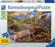 Ravensburger Puzzle - Wildnis - 500 Teile