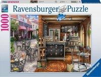 Ravensburger Puzzle - Typisches Cafe - 1000 Stück