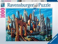 Ravensburger Puzzle - Willkommen in New York - 1000 Teile