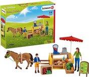 Schleich Farm world - Mobiele boerenstand  -  42528
