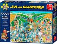 Jan van Haasteren Auf dem Weingut-Puzzle - 1000 Teile