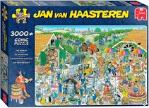 Jan van Haasteren Auf dem Weingut-Puzzle - 3000 Teile