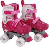 Rolschaatsen streetrider - roze