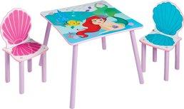 Tisch mit Stühlen für Kinder - Disney Prinzessinnen Ariel