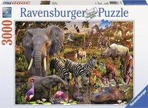 Ravensburger - Afrikanische Tierwelt - Puzzle - 3000 Teile