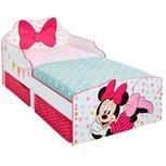 Minnie Mouse - Kinderbett mit Stauraum unter dem Bett - Strik