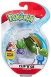 Pokemon Clip 'n Go - Oddish + Nest ball
