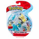 Pokemon - Battle Feature Speelfiguur 3 -pack  - Gible, Mimiskyu, Vaporeon