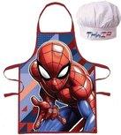 Spiderman kookschort  met koksmuts