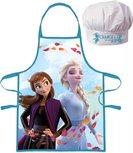 Frozen II   Kochschürze mit Kochmütze - Blau