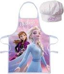 Frozen II   Kochschürze mit Kochmütze - pink
