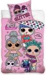 LOL Surprise dekbedovertrek  - Glitter